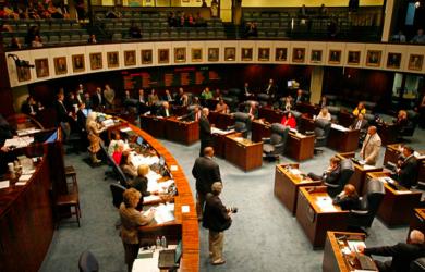 screen shot - legislature
