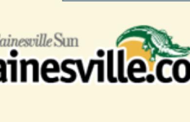 Screen Shot Gainesville Sun