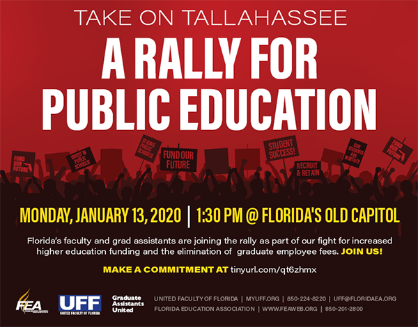 Graduation Uf 2020.United Faculty Of Florida Rally For Public Education
